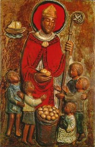 Papá Noel - San Nicolás