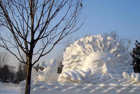 Festival Internacional de Esculturas de Hielo y Nieve de Haerbin 哈爾濱