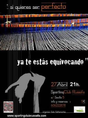Danza aérea en Sporting Club Russafa
