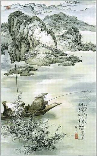 Rio Nevado de Liu Zong Yuan -  江雪  柳宗元