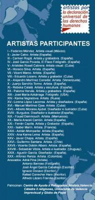 Colectiva en Imprevisual: Artistas por la Declaración Universal de los Derechos Humanos