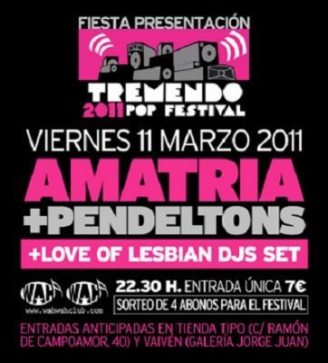Fiesta presentación del Tremendo Pop Festival en Wah Wah – Valencia