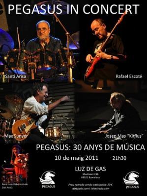 Pegasus nos regala un nuevo concierto de aniversario