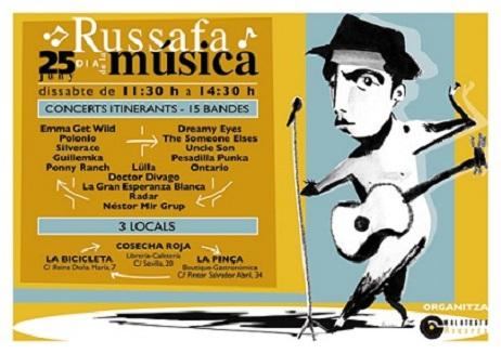 Russafa. Día de la Música