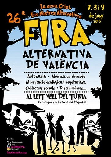 Se hace saberr... que...   arranca....  la...   26ª Fira Alternativa de València