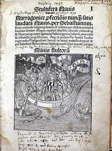Stultifera navis o La Nave de los Necios