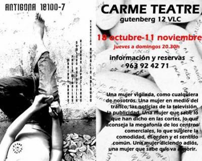 Antigona 18100-7 en Carme Teatre (Valencia)