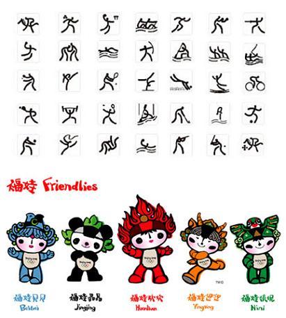Beijing Huanying Ni - Las Mascotas de los Juegos Olímpicos Beijing 2008