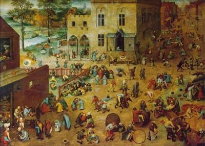 Juegos de niños, de Pieter Brueghel el Viejo