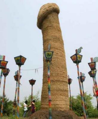 """""""El Pilar del Cielo"""",  el mayor pene del mundo, está en Chángchūn - 長春 - 长春"""