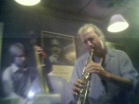 Perico Sambeat en Jimmy Glass
