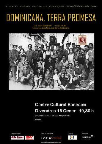 """Estreno del documental """"Dominicana, la tierra prometida"""" de Salvador Dolz"""