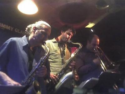 La Noche Be Bop 2 Septet en Jimmy Glass