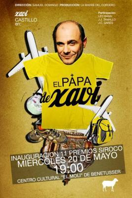 """Arrancan los Premios Siroco con """"El Papa de Xavi"""" de Samuel Domingo"""