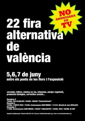 22 Fira Alternativa de València