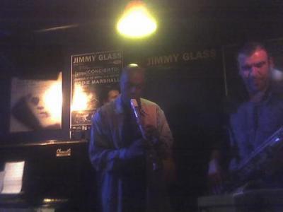 Eddie Marshall nos regaló un paisaje en el Jimmy Glass