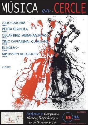 Música en Cercle en Cafetería BB.AA. de Valencia