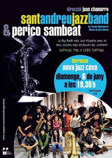 Santandreu Jazz Band & Perico Sambeat