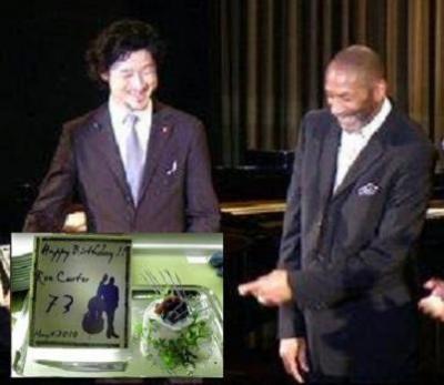 Ron Carter celebró en Tokio su 73 cumpleaños