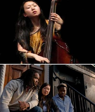 Linda Oh Trío en Jimmy Glass / Features: Ambrose Akinmusire & Nasheet Waits