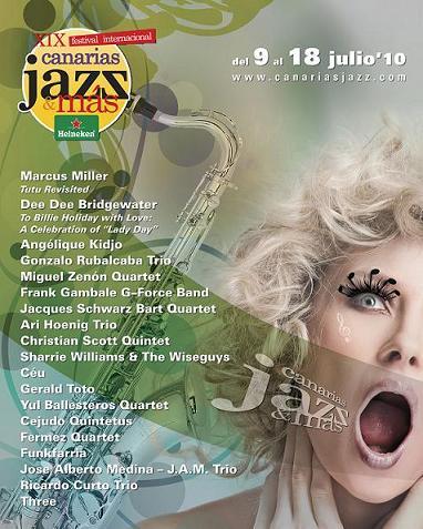 XIX Festival Internacional de Jazz Canarias & Mas