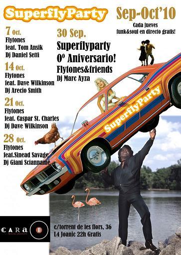 Superfly Party: Funk & Soul todos los jueves en la Cara B de Barcelona
