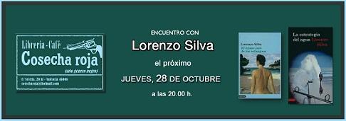 Lorenzo Silva en Cosecha Roja