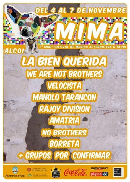 MIMA Festival de Alcoi (Alicante)