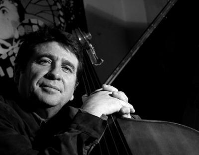 Horacio Fumero en Valencia en el Jimmy Glass acompañado de Albert Bover