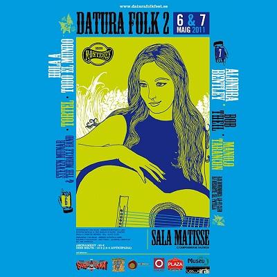 Datura Folk Fest 2011 en la sala Matisse de Valencia