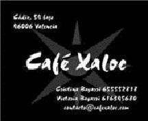 Café Xaloc un nuevo espacio cultural en el barrio de Russafa de Valencia
