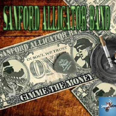 Gimme the Money, el long play de Sandford Alligator Band, ya corre
