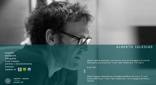 Alberto Iglesias nominado a los Oscar por Mejor Banda Sonora