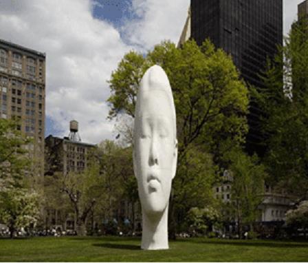"Las ""Silhouettes"" de Jaume Plensa en la Galeria Lelong de París"