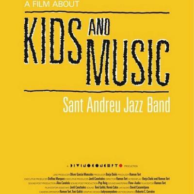 La película Kids and Music. Sant Andreu Jazz Band se estrena el 15 de febrero