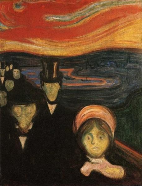 Tras la ansiedad... el grito – Edvard Munch
